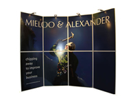 Mieloo en Alexander display