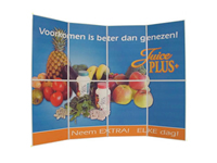 Juice plus beurswand